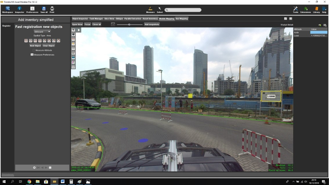 Mobile Mapping Indonesia, Mobile Lidar Indonesia, Mobile Laser
