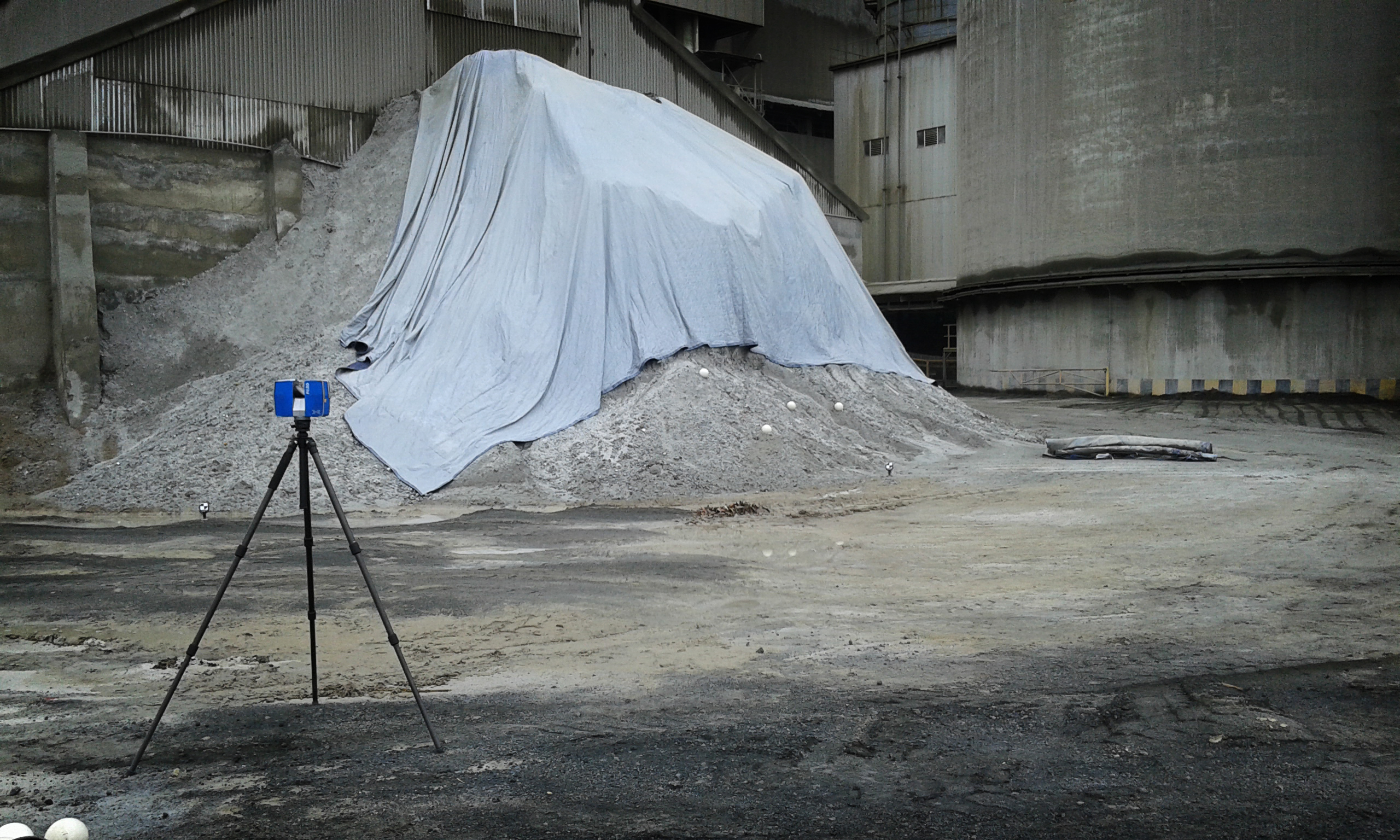 LASER SCANNING VOLUME MEASUREMENT